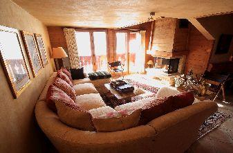 self catered meribel village chalets - chalet renard rouge
