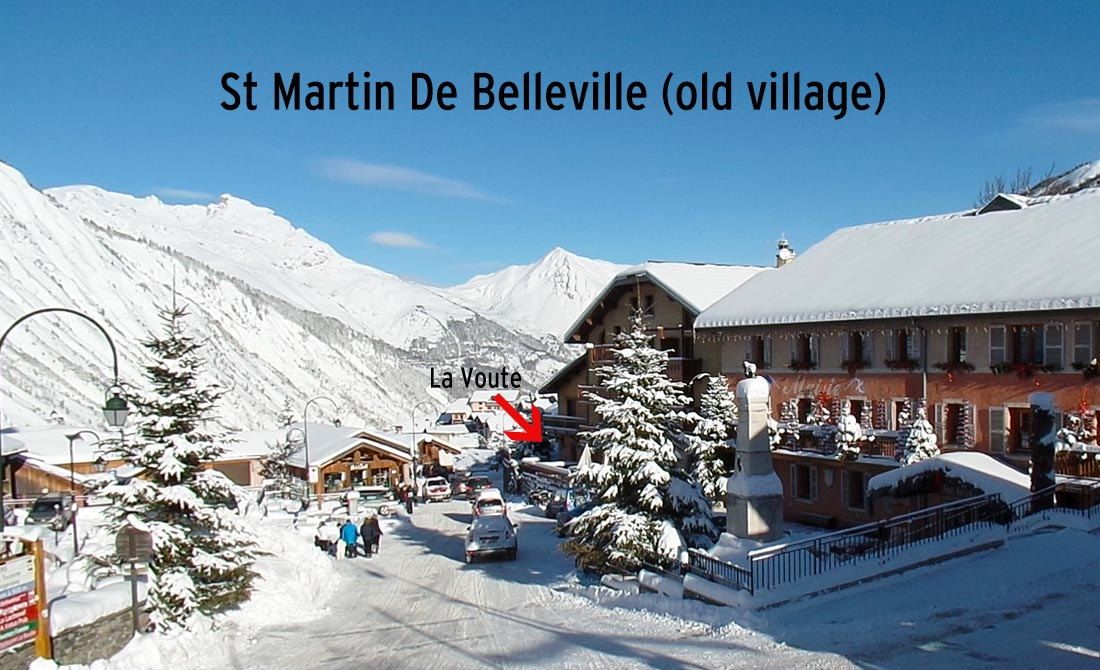 St Martin De Belleville Old Village