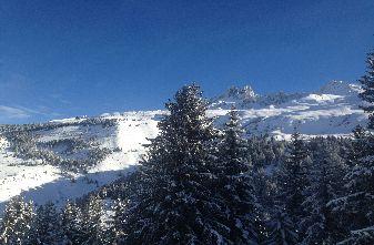 Beautiful weather. Beautiful snow. Meribel Feb 10th