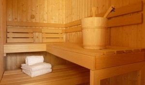 chalet-Larclusaz-sauna