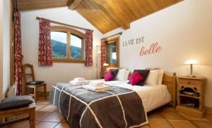 Chalet-Apartment-Le-Rocher-bedroom