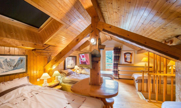 Chalet-apt-Ruiseau-bedroom-for-5