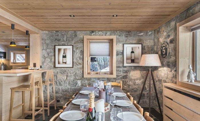 chalet-genevrier-dining