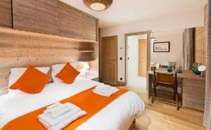 chalet-petite-chapelle-bedroom