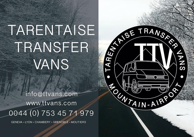 Tarentaise Transfer Vans