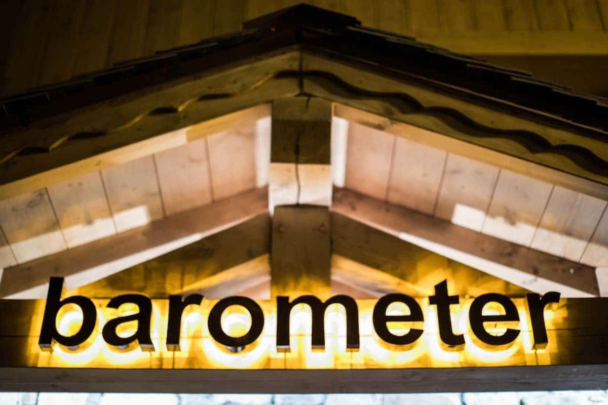 Barometer Restaurant