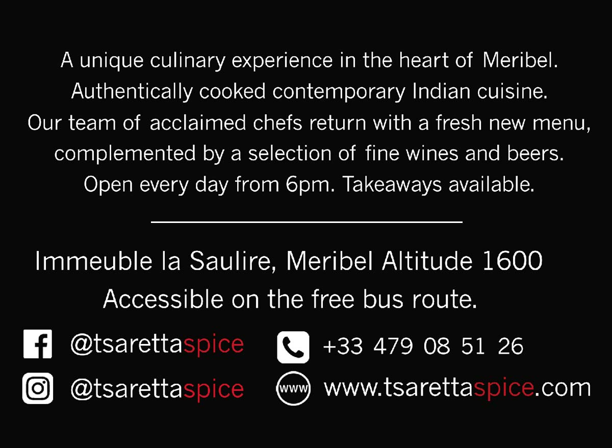 Tsaretta spice Indian